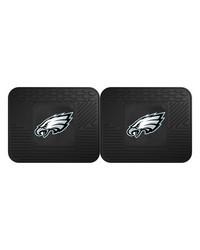 NFL Philadelphia Eagles Backseat Utility Mats 2 Pack 14x17 by