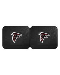 NFL Atlanta Falcons Backseat Utility Mats 2 Pack 14x17 by