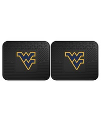 West Virginia Backseat Utility Mats 2 Pack 14x17 by
