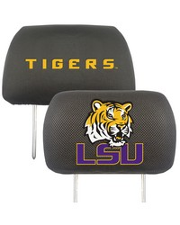 Louisiana State Head Rest Cover 10x13 by