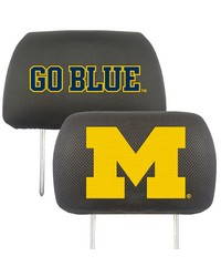 Michigan Head Rest Cover 10x13 by
