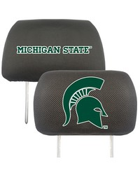 Michigan State Head Rest Cover 10x13 by