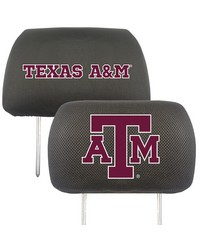 Texas AM Head Rest Cover 10x13 by