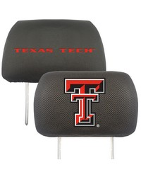 Texas Tech Head Rest Cover 10x13 by