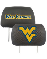 West Virginia Head Rest Cover 10x13 by