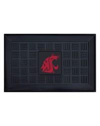 Washington State Medallion Door Mat by