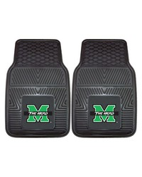 Marshall 2pc Vinyl Car Mat Set by
