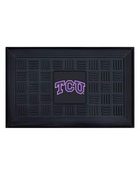 TCU Medallion Door Mat by