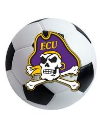 East Carolina Soccer Ball  by