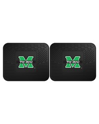 Marshall Backseat Utility Mats 2 Pack 14x17 by