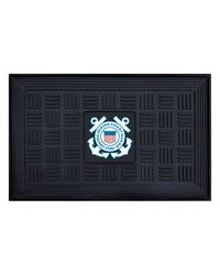 Coast Guard Medallion Door Mat by