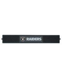 NFL Oakland Raiders Drink Mat 3.25x24 by