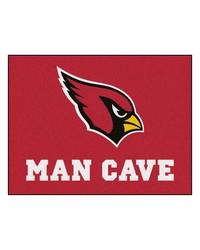 NFL Arizona Cardinals Man Cave AllStar Mat 34x45 by