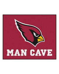 NFL Arizona Cardinals Man Cave Tailgater Rug 60x72 by