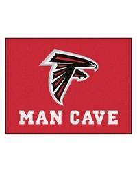 NFL Atlanta Falcons Man Cave AllStar Mat 34x45 by