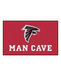 NFL Atlanta Falcons Man Cave UltiMat Rug 60x96 by