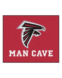 NFL Atlanta Falcons Man Cave Tailgater Rug 60x72 by
