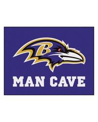 NFL Baltimore Ravens Man Cave AllStar Mat 34x45 by