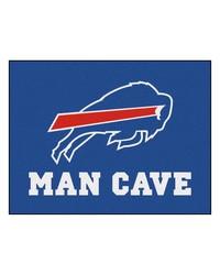 NFL Buffalo Bills Man Cave AllStar Mat 34x45 by