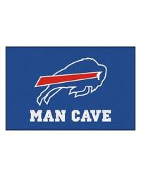 NFL Buffalo Bills Man Cave Starter Rug 19x30 by