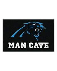 NFL Carolina Panthers Man Cave UltiMat Rug 60x96 by