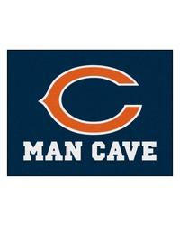NFL Chicago Bears Man Cave AllStar Mat 34x45 by