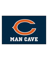 NFL Chicago Bears Man Cave Starter Rug 19x30 by