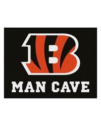 NFL Cincinnati Bengals Man Cave AllStar Mat 34x45 by