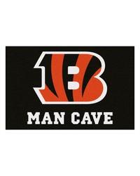 NFL Cincinnati Bengals Man Cave Starter Rug 19x30 by