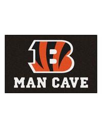 NFL Cincinnati Bengals Man Cave UltiMat Rug 60x96 by
