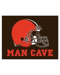 NFL Cleveland Browns Man Cave AllStar Mat 34x45 by