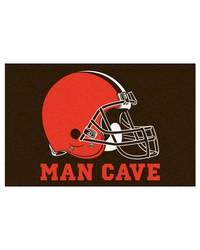 NFL Cleveland Browns Man Cave Starter Rug 19x30 by
