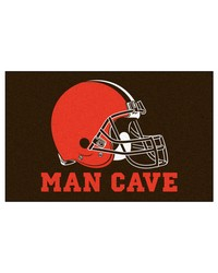 NFL Cleveland Browns Man Cave UltiMat Rug 60x96 by