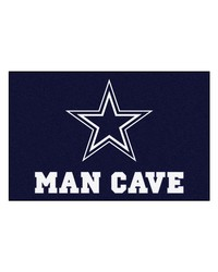NFL Dallas Cowboys Man Cave Starter Rug 19x30 by