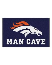 NFL Denver Broncos Man Cave UltiMat Rug 60x96 by
