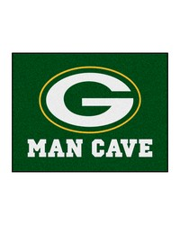 NFL Green Bay Packers Man Cave AllStar Mat 34x45 by