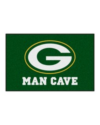 NFL Green Bay Packers Man Cave Starter Rug 19x30 by