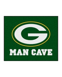 NFL Green Bay Packers Man Cave Tailgater Rug 60x72 by