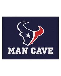 NFL Houston Texans Man Cave AllStar Mat 34x45 by