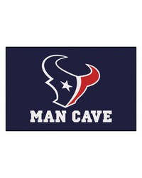 NFL Houston Texans Man Cave Starter Rug 19x30 by