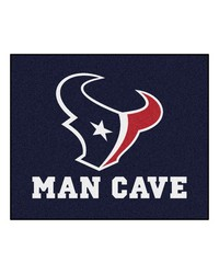 NFL Houston Texans Man Cave Tailgater Rug 60x72 by