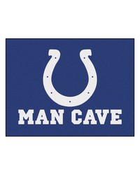 NFL Indianapolis Colts Man Cave AllStar Mat 34x45 by