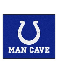 NFL Indianapolis Colts Man Cave Tailgater Rug 60x72 by