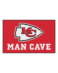 NFL Kansas City Chiefs Man Cave UltiMat Rug 60x96 by