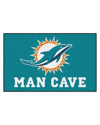 NFL Miami Dolphins Man Cave UltiMat Rug 60x96 by