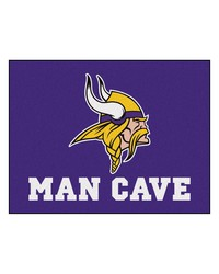 NFL Minnesota Vikings Man Cave AllStar Mat 34x45 by