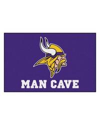 NFL Minnesota Vikings Man Cave Starter Rug 19x30 by