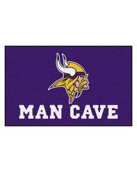 NFL Minnesota Vikings Man Cave UltiMat Rug 60x96 by