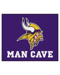 NFL Minnesota Vikings Man Cave Tailgater Rug 60x72 by