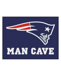 NFL New England Patriots Man Cave AllStar Mat 34x45 by